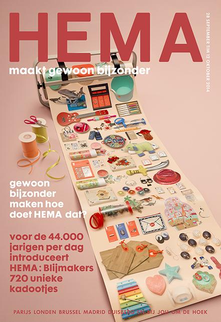 Def Hema maakt gewoon...Blijmakers brochure