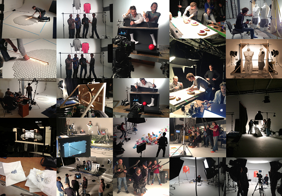 Def Ned helpt Hema TVC shootingpics